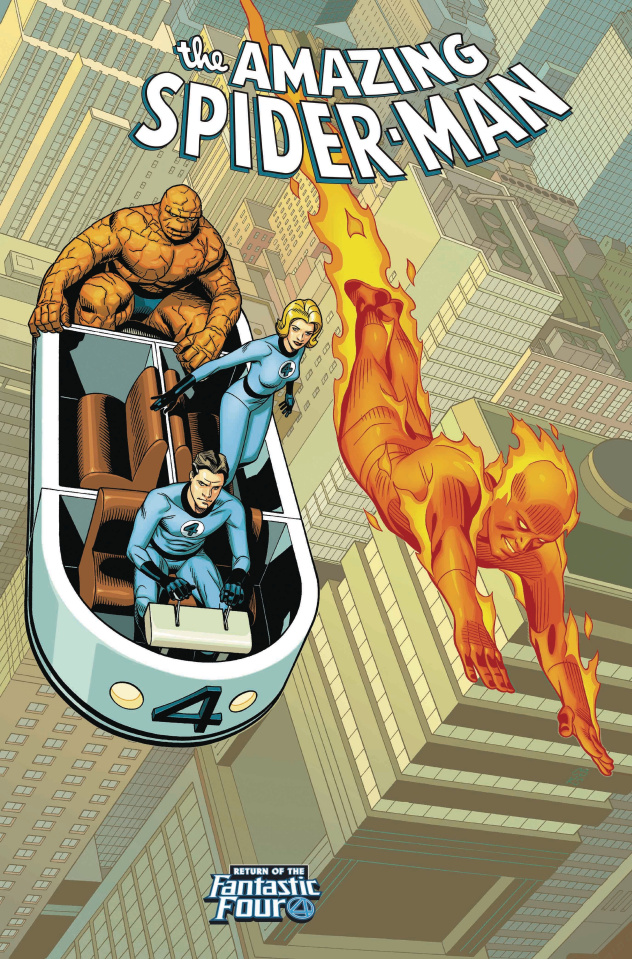 The Amazing Spider-Man #4 (Sprouse Return of Fantastic Four Cover)