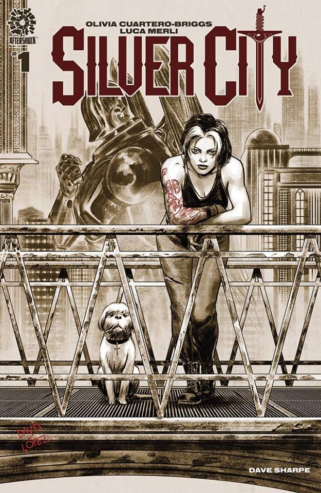 Silver City #1 (15 Copy David Lopez Cover)
