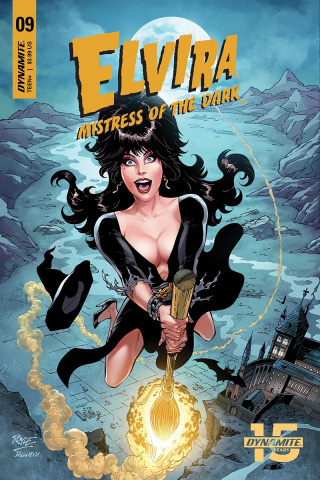 Elvira: Mistress of the Dark #9 (Royle Cover)