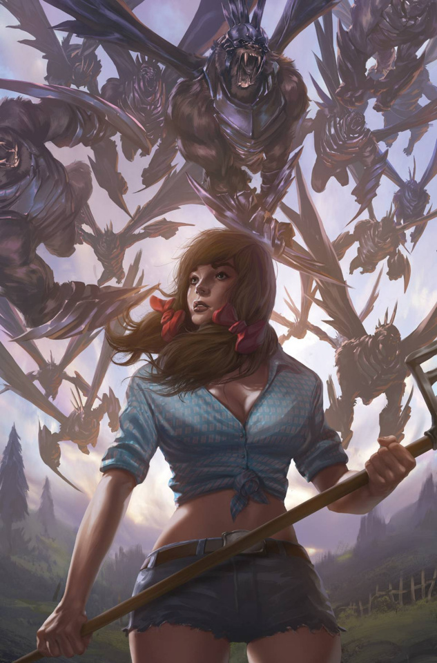 Grimm Fairy Tales: Oz - No Place Like Home #1 (Wimberly Cover)