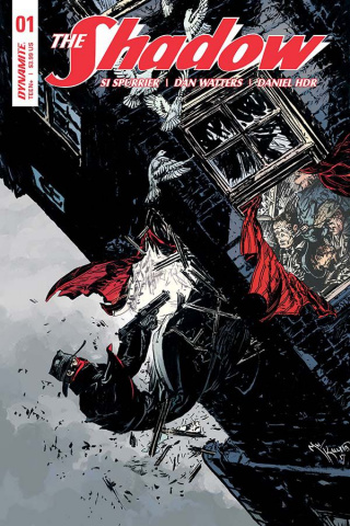 The Shadow #1 (Kaluta Cover)