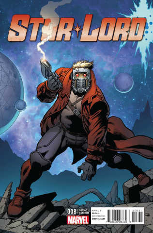 Star-Lord #8 (Starlin Cover)