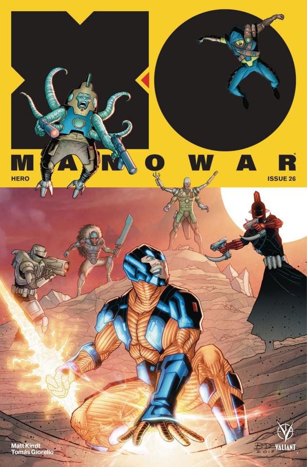 X-O Manowar #26 (Bodenheim Cover)