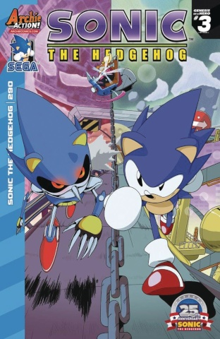 Sonic the Hedgehog #290 (Spaziante Cover)