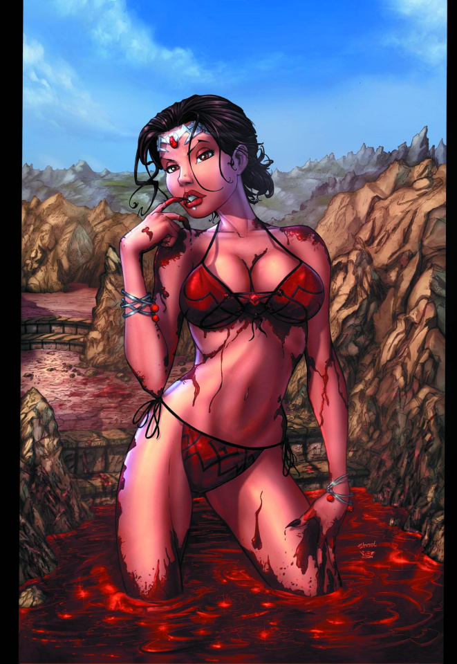 Grimm Fairy Tales: Dark Queen (Ehnot Bikini Cover)