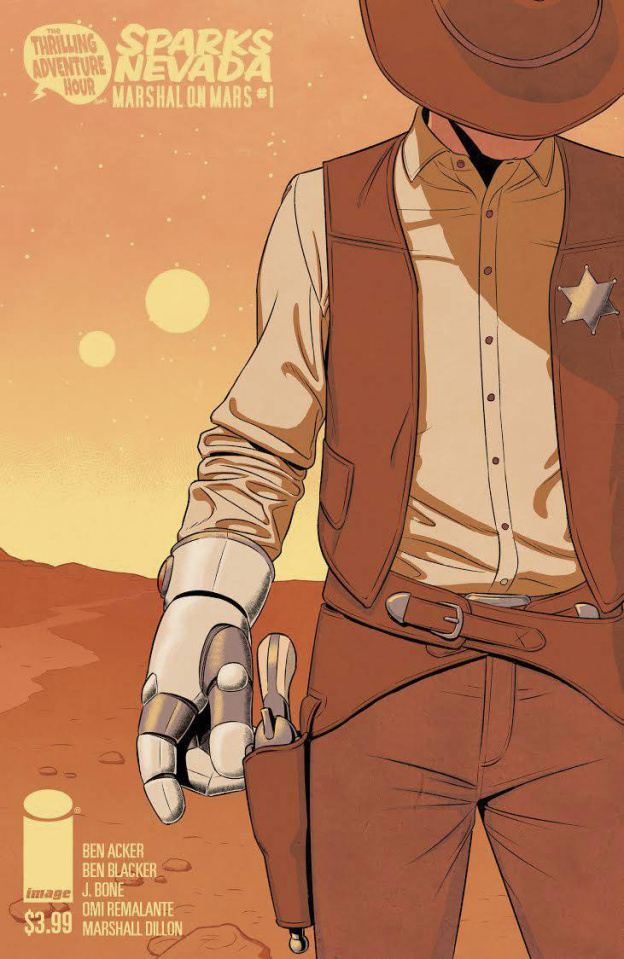 Sparks Nevada: Marshal on Mars #1 (McKelvie Cover)