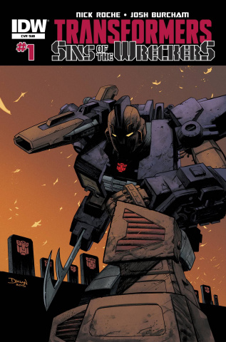 The Transformers: Sins of the Wreckers #1 (Subscription Cover)