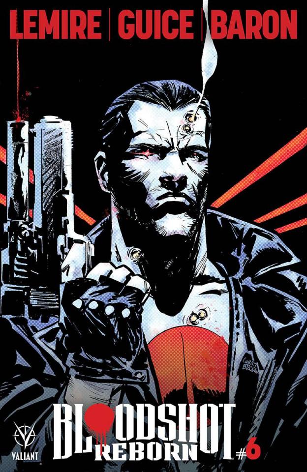 Bloodshot: Reborn #6 (Brown Cover)