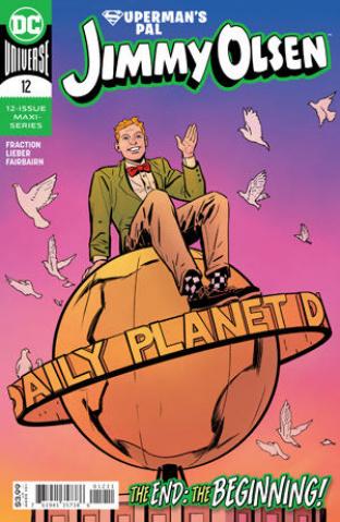 Superman's Pal Jimmy Olsen #12 (Steve Lieber Cover)