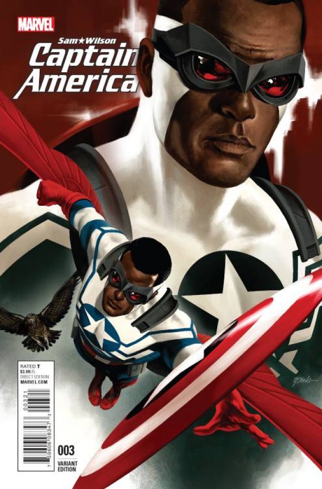 Captain America: Sam Wilson #3 (Epting Cover)