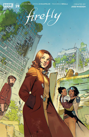 Firefly #29 (Bengal Cover)