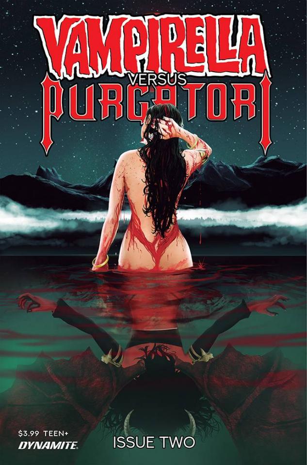 Vampirella vs. Purgatori #2 (Premium Maine Cover)