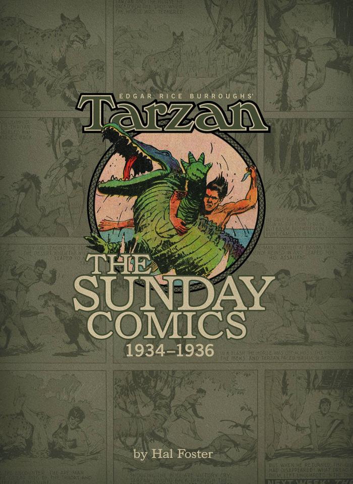 Tarzan: The Sunday Comics Vol. 2: 1934-1936