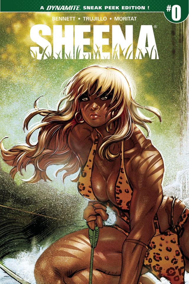 Sheena #0 (25 Copy Moritat Sneak Peek Cover)