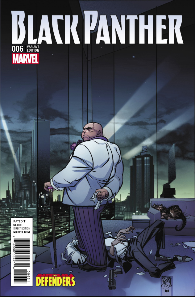 Black Panther #6 (Udon Cover)