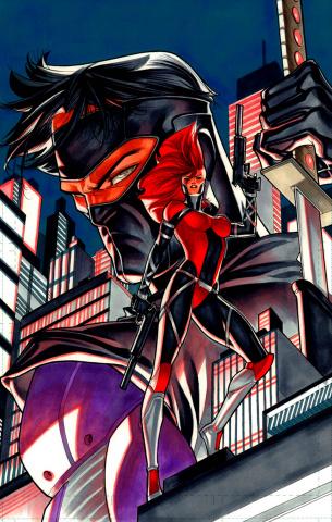 Ninjak #15 (20 Copy Silas Cover)