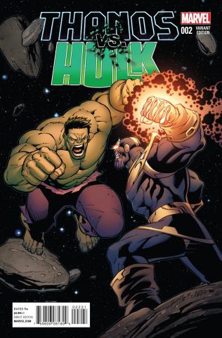 Thanos vs. Hulk #2 (Lim Cover)