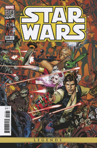 Star Wars Legends: The Original Marvel Years #108 (Golden Cover)