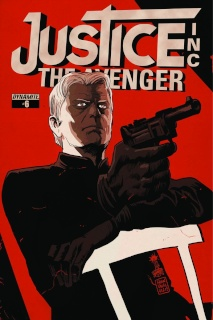 Justice Inc.: The Avenger #6 (Francavilla Cover)