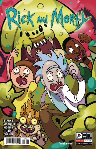 Rick and Morty #56 (Allen-McDowell Cover)