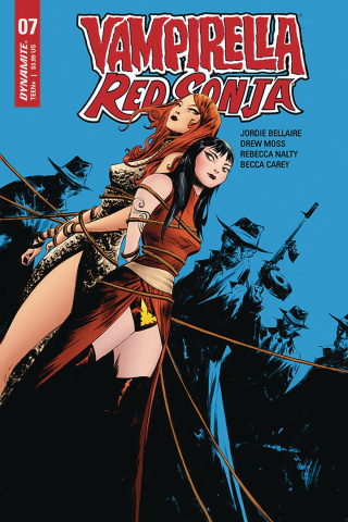 Vampirella / Red Sonja #7 (Lee Cover)