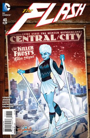 The Flash #43 (Bombshells Cover)