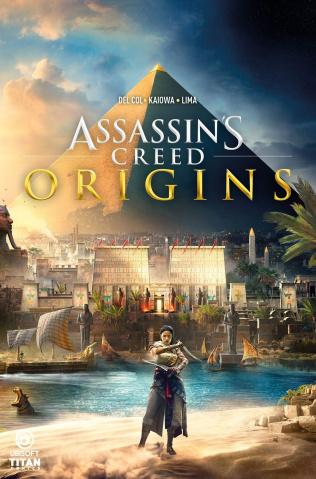 Assassin's Creed: Origins #1 (Game Art Cover)