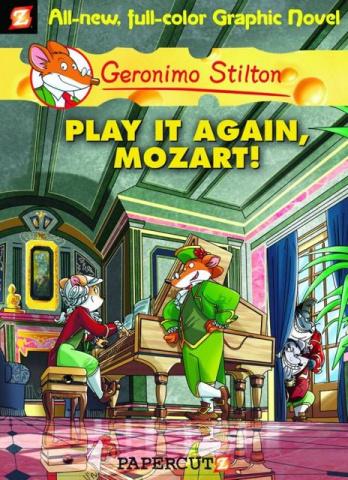 Geronimo Stilton Vol. 8: Play It Again, Mozart!