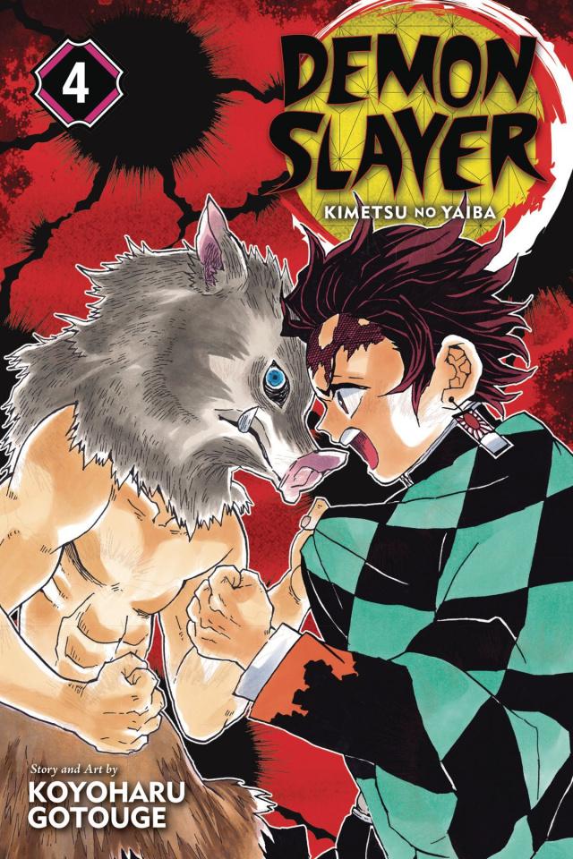 Demon Slayer: Kimetsu No Yaiba Vol. 4
