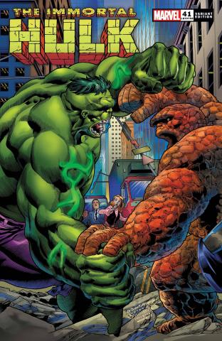The Immortal Hulk #41 (Bennett Cover)