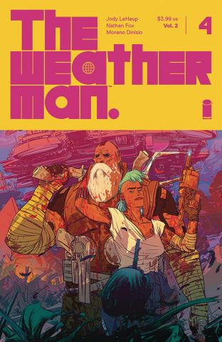 The Weatherman #4 (Fox Cover)
