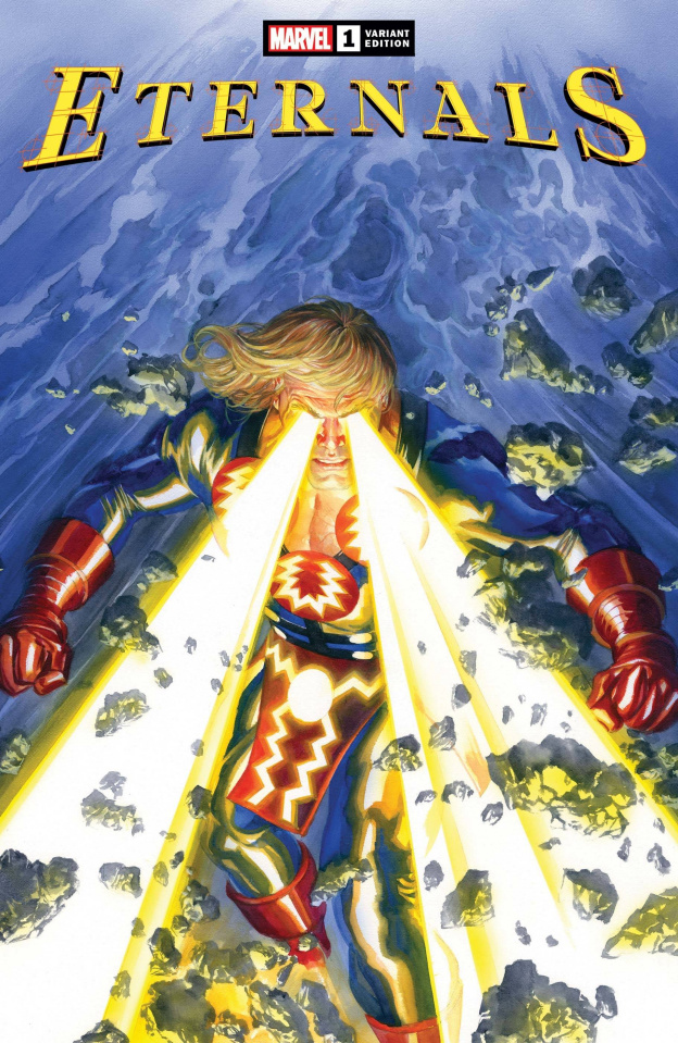 Eternals #1 (Alex Ross Cover)