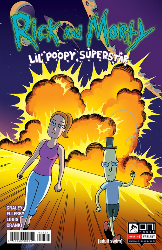 Rick and Morty: Lil' Poopy Superstar #1 (Levens Cover)