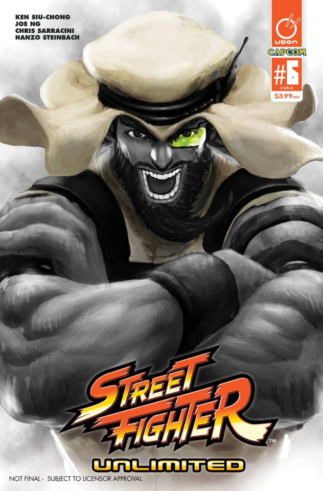 Street Fighter Unlimited #6 (20 Copy SF V Game Cover)