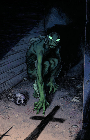 Abe Sapien: Dark & Terrible #2