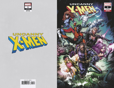Uncanny X-Men #1 (Finch Virgin Cover)