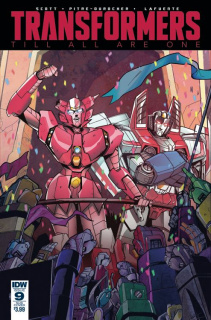 The Transformers: Till All Are One #9 (Subscription Cover)