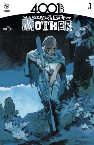 4001 AD: War Mother #1 (Nord Cover)