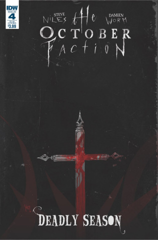 The October Faction: Deadly Season #4 (Subscription Cover)