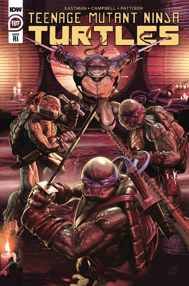 Teenage Mutant Ninja Turtles #107 (10 Copy McArdell Cover)