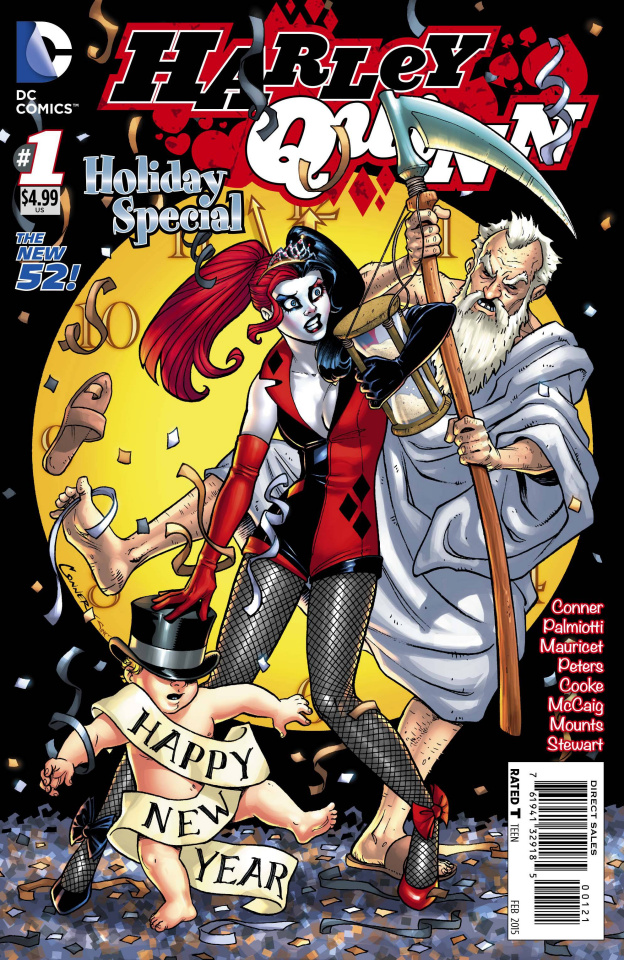 Harley Quinn Holiday Special #1 (New Years Eve Cover)