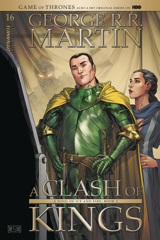A Game of Thrones: A Clash of Kings #16 (Miller Cover)