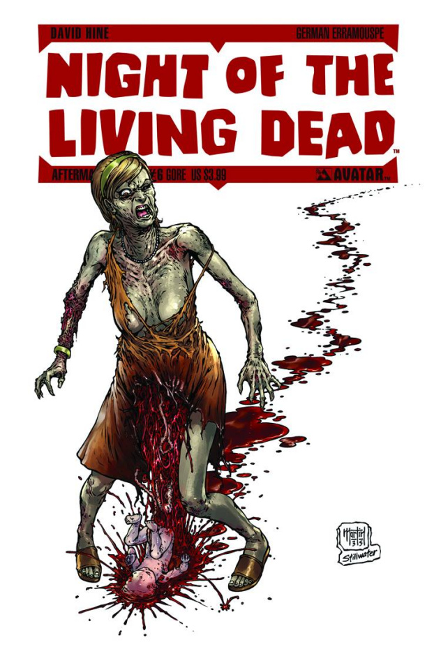 Night of the Living Dead: Aftermath #6 (Gore Cover)