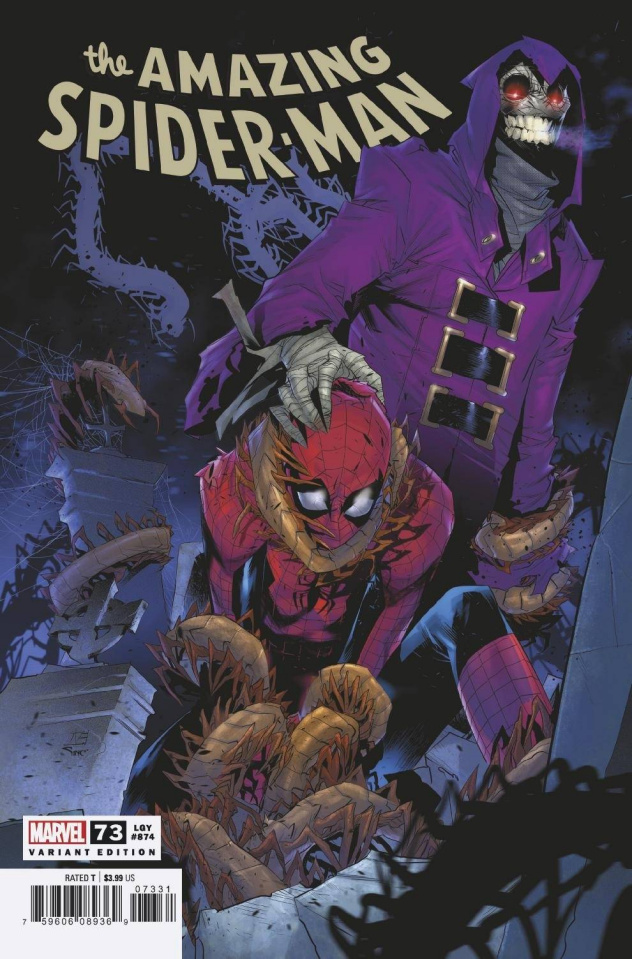 The Amazing Spider-Man #73 (Vincentini Cover)