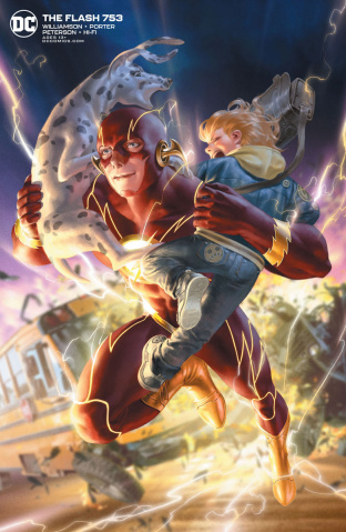 The Flash #753 (Jungeuon Yoon Cover)