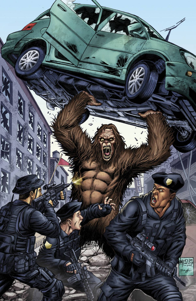 Grimm Fairy Tales: Escape From Monster Island #3 (Reyes Cover)
