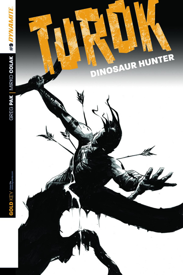 Turok: Dinosaur Hunter #9 (25 Copy Cover)