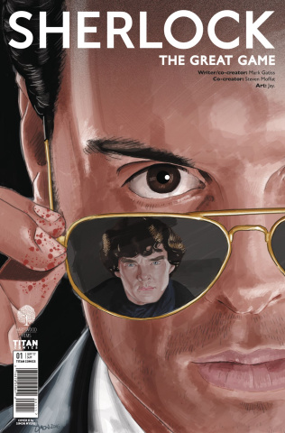 Sherlock: The Great Game #1 (Myers Cover)
