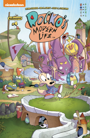 Rocko's Modern Life #4 (Bachan Cover)