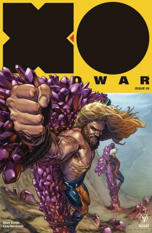 X-O Manowar #9 (Larosa Cover)